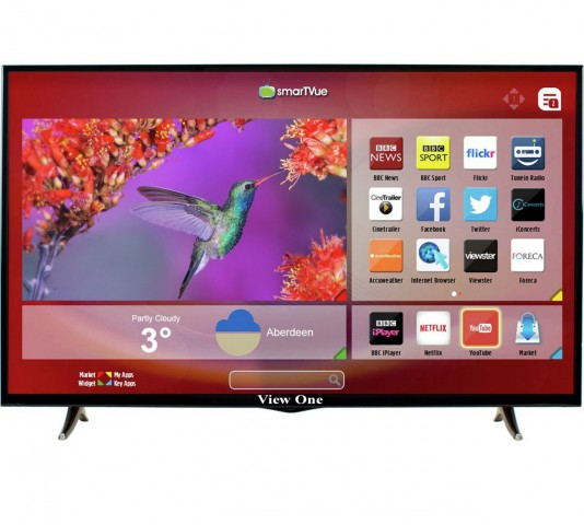 """View One 32"""" Android Full HD Smart Internet Television"""