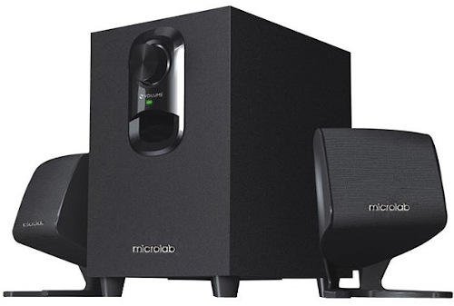 Microlab M108BT 2:1 Bluetooth Speaker