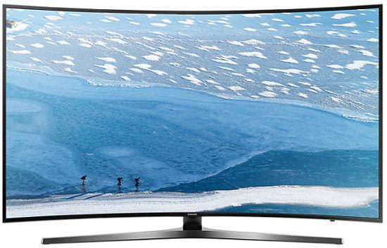 "Samsung KU6500 Wi-Fi 65"" 4K Ultra HD Smart Curved TV"