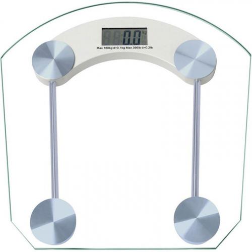 Digital Glass Body Transparent Weight Machine