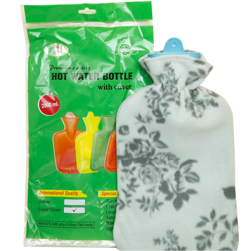 Hot Water Bottle with Soft Cover