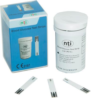 NTI Blood Glucose Test Strips