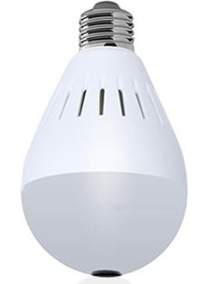 Bulb Shape X910 Panoramic 360 Degree HD Spy IP Camera