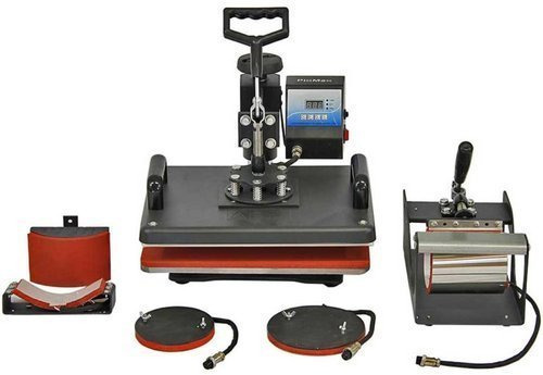 Combo 5-in-1 Heavy Heat Press Machine