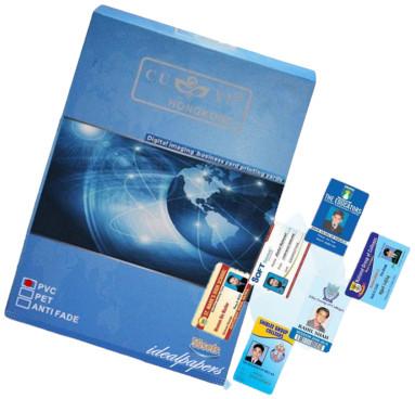 Cuyi 50 Set PVC Card Sheet
