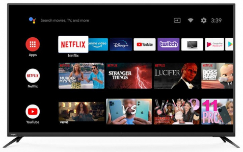 "Full HD Super Slim 50"" Wi-Fi Android Smart TV"