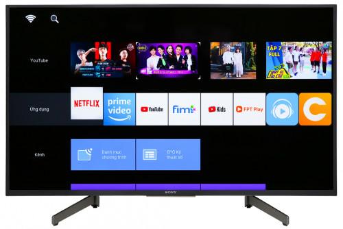 Sony Bravia W660G 43-Inch 1080p Full HD Smart TV