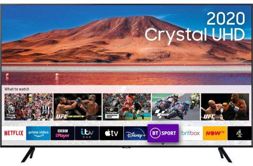 "Samsung TU7000 65"" 4K Crystal UHD Series 7 Flat TV"