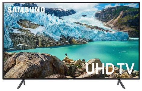 "Samsung RU7200 43"" 4K HDR UHD 7 Series Flat TV"