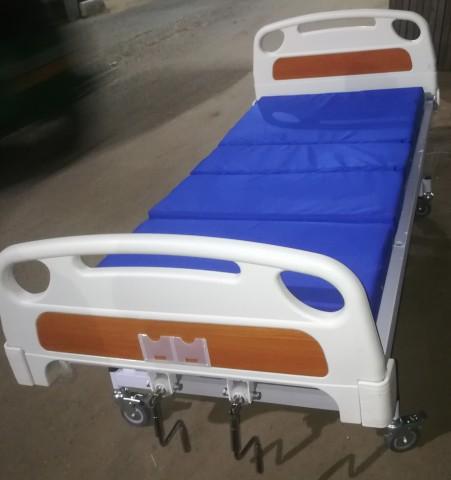 Medical Bed 2 Side Folding Both Side Safety Railing