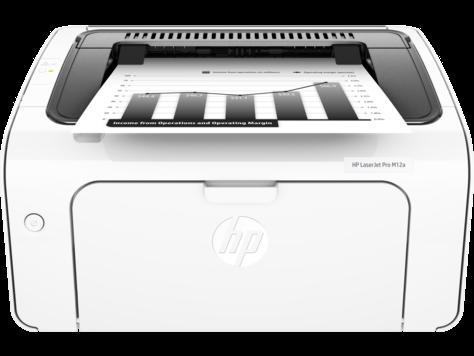 HP Laserjet Pro M12A 18 PPM USB Monochrome Laser Printer