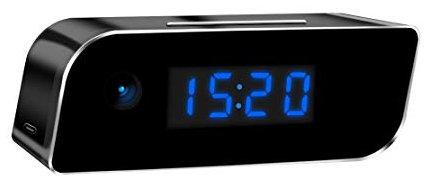 Clock Spy Camera Full HD 1080p LED Display