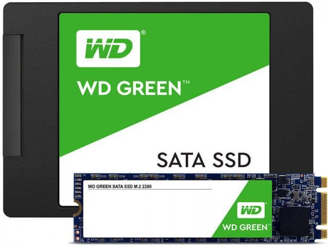 Western Digital Green 240GB SATA III Gbps Solid State Drive