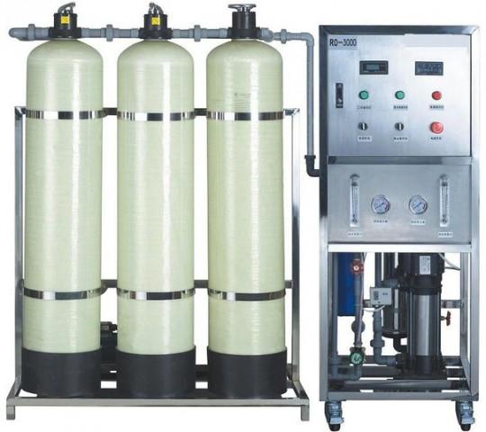Industrial 1500gpd DM Water Treatment Plant