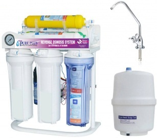 Pure Plus PP-RO75G-D+ 6 Stage RO Mineral & Alkaline Purifier