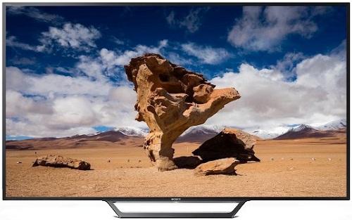 "Sony Bravia W65D 40"" Flat Full HD Wi-Fi Direct Smart LED TV"