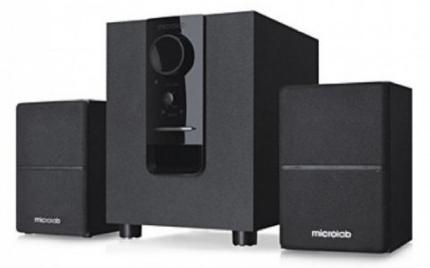 Microlab M106BT Wireless Bluetooth 2:1 Multimedia Sound Box