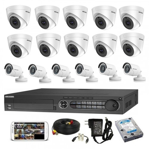 CCTV Package Hikvision 16CH 16-Pcs Camera 2TB HDD