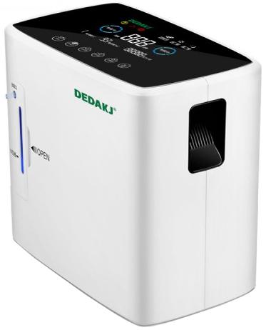 Dedakj DE-Y1S High-End Portable Oxygen Concentrator