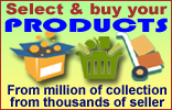 Select products from million of products from thousands of sellers